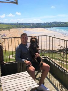 Henry Slade The Headland Hotel Dog Friendly