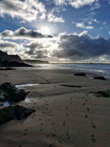 Watergate Bay Beach Cornwall