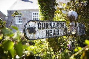 Gurnards Head Dog Walk Signpost