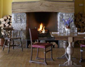 The Old Coastguard Bar Fireplace