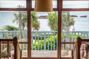 The Old Coastguard Dog Friendly Dining View