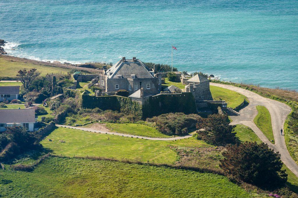 star castle aerial shot