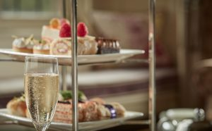 Bovey Castle Champagne Afternoon Tea