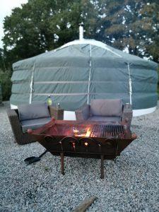 Fir Hill Glamping Yurt & Fire Pit