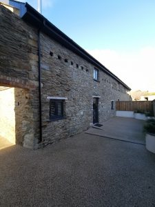 The Hayloft Self Catering Entrance