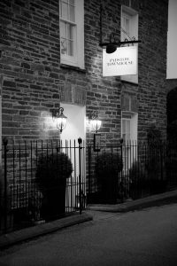 Padstow Townhouse Exterior Entrance