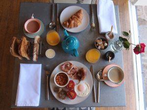 Whitehouse B&B Devon Breakfast