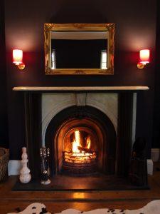 Whitehouse B&B Lounge Fireplace