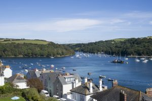 Fowey Harbour Hotel View
