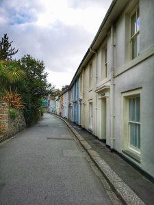Street in Fowey - Cornwall